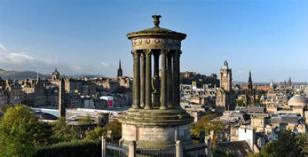 Calton Hill and the Scottish National Monument
